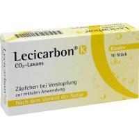 LECICARBON K CO2 Laxans Kindersuppositorien 10 St kaufen und sparen