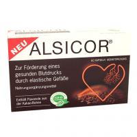 ALSICOR mit Kakao Flavanolen Kapseln 60 St