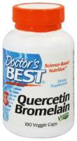 Doctors Best Quercetin Bromelain 180 Vegetarische Kapseln