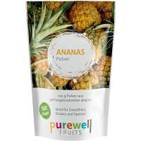 ANANAS Pulver von Purewell FRUITS - 120g veganes Pulver