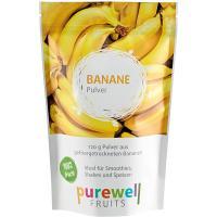 BANANE Pulver von Purewell FRUITS - 120g veganes Pulver