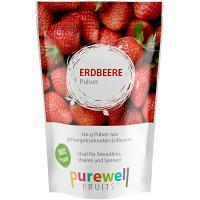 ERDBEERE Pulver von Purewell FRUITS - 120g veganes Pulver