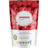 HIMBEERE PULVER von Purewell FRUITS - 120g veganes Pulver