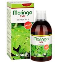 Moringa forte mit Aloe Vera - Der vielleicht nährstoffreichste Drink der Welt