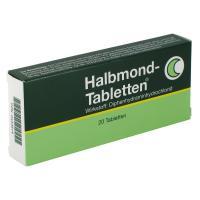 Halbmond-Tabletten 50mg Tabletten 20 Stück