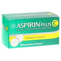 Aspirin plus C Brausetabletten 20 Stück kaufen und sparen