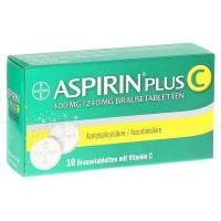 Aspirin plus C Brausetabletten 10 Stück kaufen und sparen