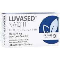 Luvased Nacht zum Einschlafen Überzogene Tabletten 100 Stück