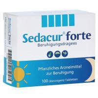 Sedacur forte Beruhigungsdragees Überzogene Tabletten 100 Stück