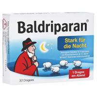 Baldriparan Stark für die Nacht Überzogene Tabletten 30 Stück