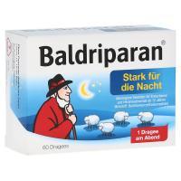 Baldriparan Stark für die Nacht Überzogene Tabletten 60 Stück