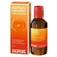 HEPAR HEVERT Lebertropfen 50 Milliliter