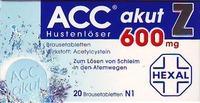Acc Akut 600 Z Hustenloeser Brausetabl. 20 ST