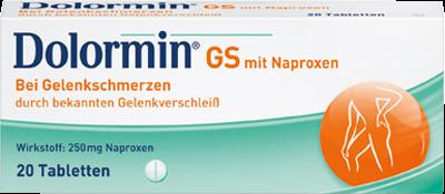 DOLORMIN GS mit Naproxen Tabletten 20 St