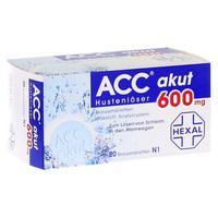 Acc Akut 600 Brausetabl. 20 ST