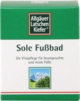 Allgaeuer Latschenk. Sole Fussbad 10X10 G