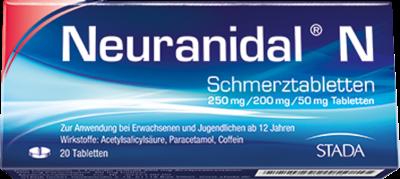 NEURANIDAL N Tabletten 20 St