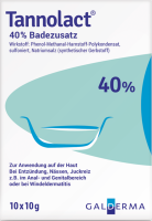 TANNOLACT Badezusatz 10X10 g