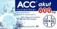 Acc Akut 600 Brausetabl. 10 ST