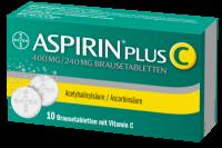 ASPIRIN plus C Brausetabletten 10 St