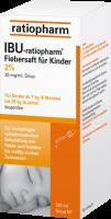 IBU-RATIOPHARM Fiebersaft für Kinder 20 mg/ml 100 ml