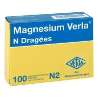 MAGNESIUM VERLA N Dragees 100 St
