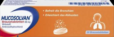 MUCOSOLVAN Brausetabletten 60 mg 20 St