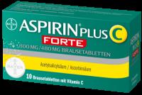 ASPIRIN plus C forte 800 mg/480 mg Brausetabletten 10 St
