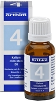 BIOCHEMIE Globuli 4 Kalium chloratum D 6 15 g