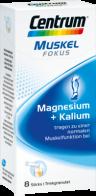 CENTRUM Fokus Muskel Magnesium+Kalium Sticks 8 St