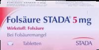 FOLSÄURE STADA 5 mg Tabletten 100 St