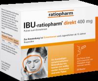 IBU-RATIOPHARM direkt 400 mg Pulver zum Einnehmen 20 St