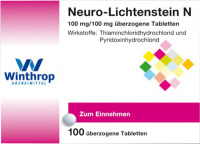 NEURO LICHTENSTEIN N Dragees 100 St
