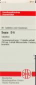 SEPIA D 6 Tabletten 80 St