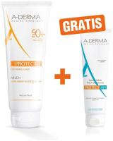 Aderma Protect Milch LSF 50+ 250 ml Lotion + gratis Protect After Sun Repair 15 ml Lotion