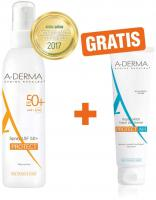 Aderma Protect SPF 50+ 200 ml Spray + gratis Protect After Sun Repair 15 ml Lotion