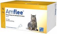 Amflee 50 mg Spot on Lösung zum Auftropfen für Katzen 6 Pipetten