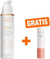 Avene Serenage Unifiant Aufbau Tagespflege SPF 20 40 ml Creme + gratis 4 g Lippenpflegestift