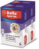 Bolfo Spot On für große Hunde bis 40 kg 2 x 3 Pipetten
