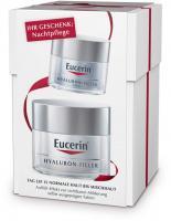 Eucerin Anti-Age Hyaluron-Filler Tag Normale und Mischhaut 50 ml + gratis Nachtpflege 20 ml