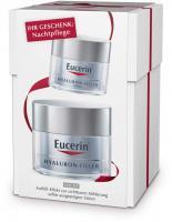 Eucerin AntiAge Hyaluron-Filler Nachtcreme 50 ml + gratis Nachtpflege 20 ml
