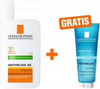 La Roche Posay Anthelios AC LSF 30 50 ml Fluid + gratis Posthelios 40 ml Mini