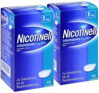 Sparset Nicotinell Lutschtabletten 1 mg Mint 2 x 96 Stück