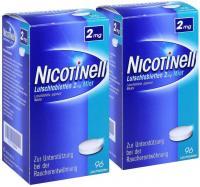 Sparset Nicotinell Lutschtabletten 2 mg Mint 2 x 96 Stück