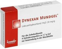 Dynexan 4 x 1,7 g Mundgel