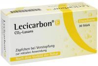 Lecicarbon E Co2 Laxans Erwachsenensuppositorien 30 Stück