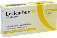 Lecicarbon K Co2 Laxans 10 Kindersuppositorien kaufen und sparen
