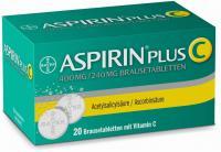 Aspirin Plus C 20 Brausetabletten über kaufen und sparen