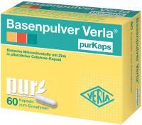 Basenpulver Verla purKaps 60 Kapseln