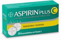Aspirin Plus C 10 Brausetabletten über kaufen und sparen